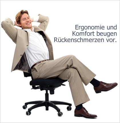 PH Bürotechnik liefert ergonomische Bürostühle